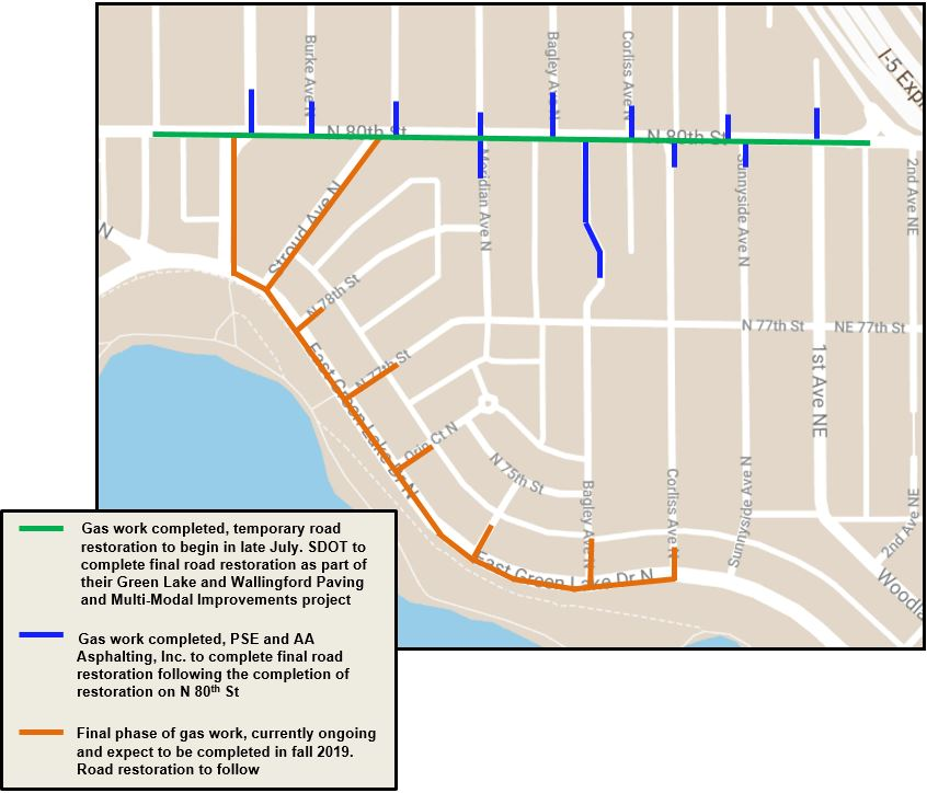 PSE | Green Lake and Wallingford-area natural gas main