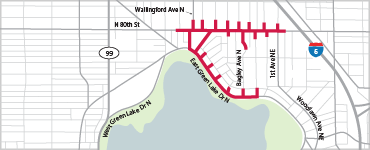 Green Lake and Wallingford natural gas main replacement projects