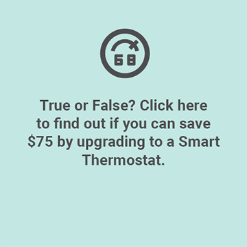 Updgrade to a smart thermostat