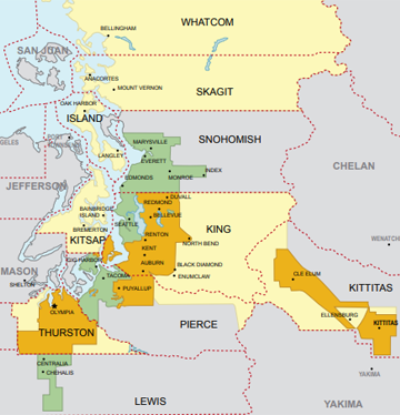 Puget Sound Energy Power Outage Map PSE | Locations and Service Area